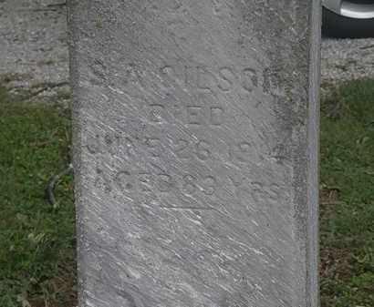 GILSON, S.A. - Lorain County, Ohio | S.A. GILSON - Ohio Gravestone Photos