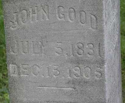 GOOD, JOHN - Lorain County, Ohio | JOHN GOOD - Ohio Gravestone Photos