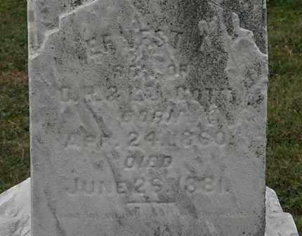 GOTT, ERNEST L. - Lorain County, Ohio | ERNEST L. GOTT - Ohio Gravestone Photos
