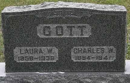 GOTT, CHARLES W. - Lorain County, Ohio | CHARLES W. GOTT - Ohio Gravestone Photos