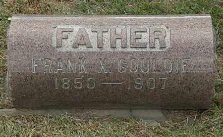GOULDIE, FRANK X. - Lorain County, Ohio | FRANK X. GOULDIE - Ohio Gravestone Photos