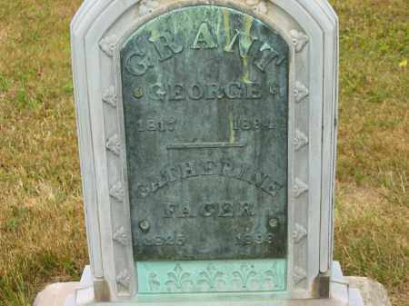 GRANT, GEORGE - Lorain County, Ohio | GEORGE GRANT - Ohio Gravestone Photos