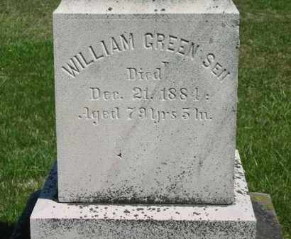GREEN  SEN., WILLIAM - Lorain County, Ohio | WILLIAM GREEN  SEN. - Ohio Gravestone Photos
