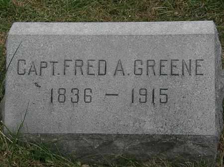 GREENE, FRED A. - Lorain County, Ohio | FRED A. GREENE - Ohio Gravestone Photos