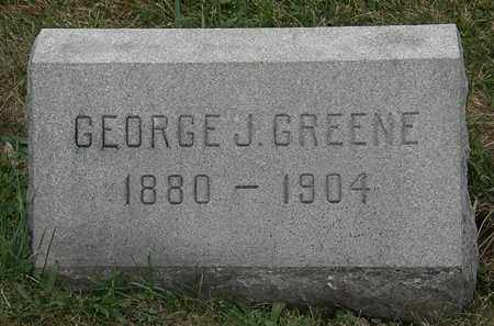 GREENE, GEORGE J. - Lorain County, Ohio | GEORGE J. GREENE - Ohio Gravestone Photos