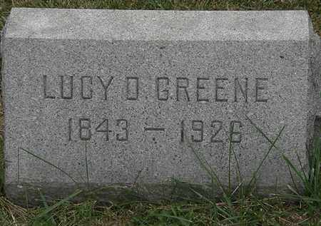 GREENE, LUCY D. - Lorain County, Ohio | LUCY D. GREENE - Ohio Gravestone Photos