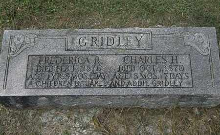 GRIDLEY, ADDIE - Lorain County, Ohio | ADDIE GRIDLEY - Ohio Gravestone Photos