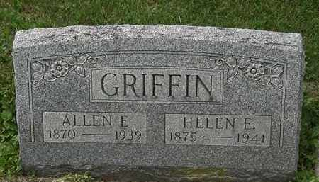 GRIFFIN, HELEN E. - Lorain County, Ohio | HELEN E. GRIFFIN - Ohio Gravestone Photos