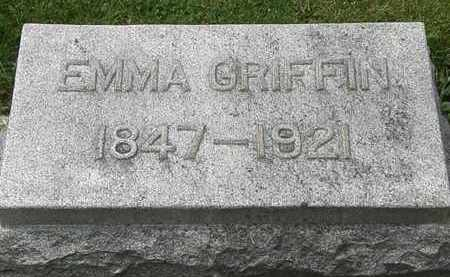 GRIFFIN, EMMA - Lorain County, Ohio | EMMA GRIFFIN - Ohio Gravestone Photos