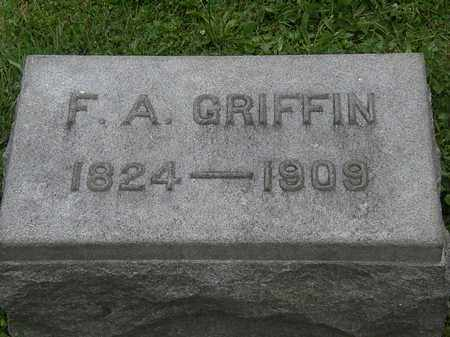 GRIFFIN, F.A. - Lorain County, Ohio | F.A. GRIFFIN - Ohio Gravestone Photos