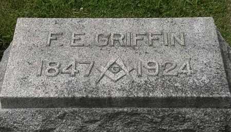 GRIFFIN, F.E. - Lorain County, Ohio | F.E. GRIFFIN - Ohio Gravestone Photos