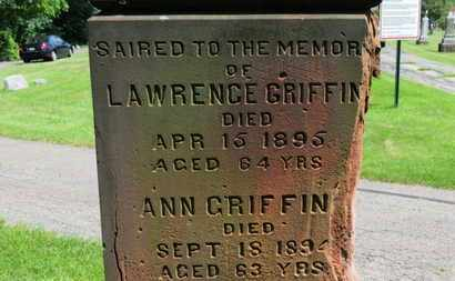 GRIFFIN, LAWRENCE - Lorain County, Ohio | LAWRENCE GRIFFIN - Ohio Gravestone Photos