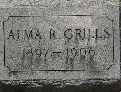 GRILLS, ALMA R. - Lorain County, Ohio | ALMA R. GRILLS - Ohio Gravestone Photos