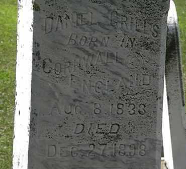 GRILLS, DANIEL - Lorain County, Ohio | DANIEL GRILLS - Ohio Gravestone Photos