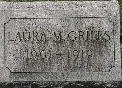 GRILLS, LAURA M. - Lorain County, Ohio | LAURA M. GRILLS - Ohio Gravestone Photos