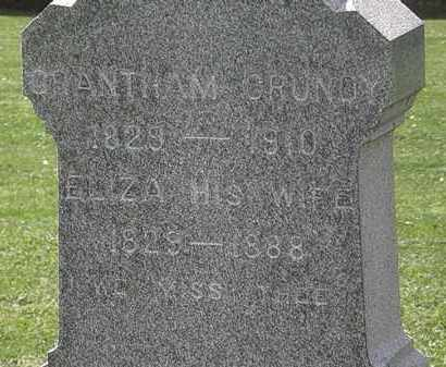 GRUNDY, GRANTHAM - Lorain County, Ohio | GRANTHAM GRUNDY - Ohio Gravestone Photos