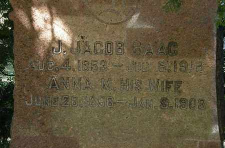 HAAG, J. JACOB - Lorain County, Ohio | J. JACOB HAAG - Ohio Gravestone Photos