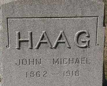 HAAG, JOHN MICHAEL - Lorain County, Ohio | JOHN MICHAEL HAAG - Ohio Gravestone Photos