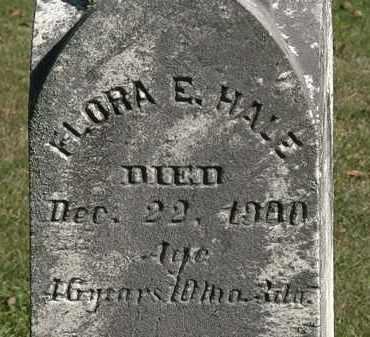 HALE, FLORA E. - Lorain County, Ohio | FLORA E. HALE - Ohio Gravestone Photos