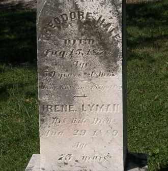 HALE, THEODORE - Lorain County, Ohio | THEODORE HALE - Ohio Gravestone Photos