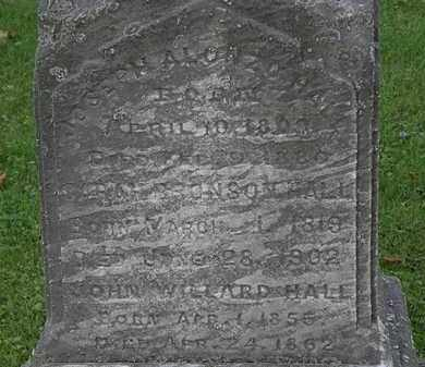 HALL, JOSEPH ALONZO - Lorain County, Ohio | JOSEPH ALONZO HALL - Ohio Gravestone Photos