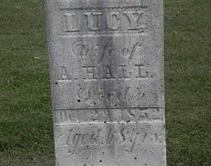 HALL, LUCY - Lorain County, Ohio | LUCY HALL - Ohio Gravestone Photos