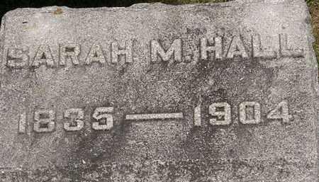 HALL, SARAH M. - Lorain County, Ohio | SARAH M. HALL - Ohio Gravestone Photos