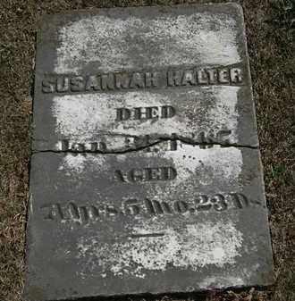 HALTER, SUDANNAH - Lorain County, Ohio | SUDANNAH HALTER - Ohio Gravestone Photos