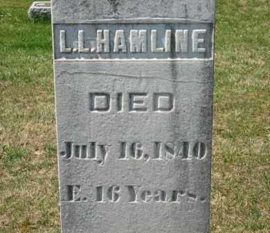 HAMLINE, L. L. - Lorain County, Ohio | L. L. HAMLINE - Ohio Gravestone Photos