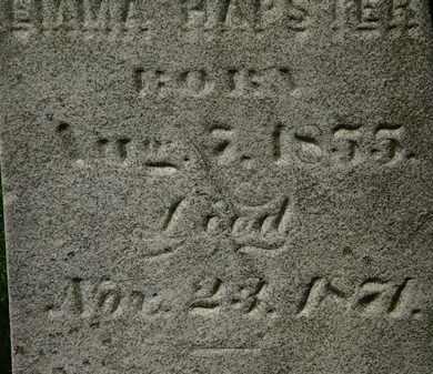 HARPSTER, EMMA - Lorain County, Ohio | EMMA HARPSTER - Ohio Gravestone Photos