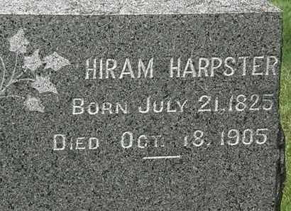 HARPSTER, HIRAM - Lorain County, Ohio | HIRAM HARPSTER - Ohio Gravestone Photos