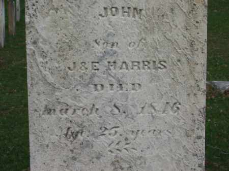 HARRIS, JOHN - Lorain County, Ohio | JOHN HARRIS - Ohio Gravestone Photos