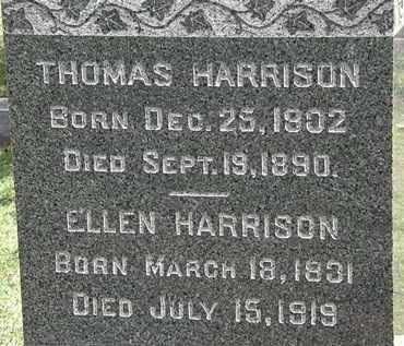 HARRISON, ELLEN - Lorain County, Ohio | ELLEN HARRISON - Ohio Gravestone Photos