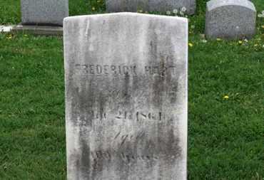 HART, FREDERICK - Lorain County, Ohio | FREDERICK HART - Ohio Gravestone Photos