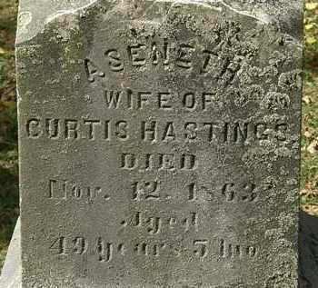 HASTINGS, ASENETH - Lorain County, Ohio   ASENETH HASTINGS - Ohio Gravestone Photos