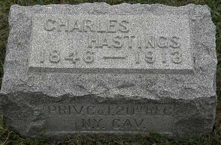 HASTINGS, CHARLES - Lorain County, Ohio | CHARLES HASTINGS - Ohio Gravestone Photos