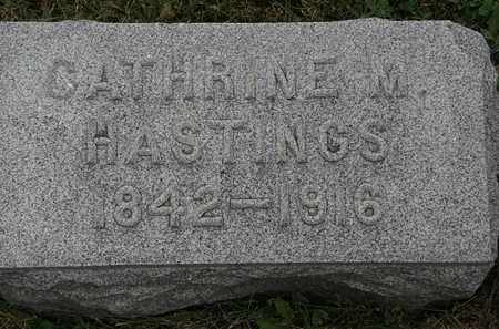 HASTINGS, CATHRINE M. - Lorain County, Ohio | CATHRINE M. HASTINGS - Ohio Gravestone Photos