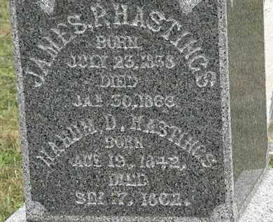 HASTINGS, NAHUM D. - Lorain County, Ohio | NAHUM D. HASTINGS - Ohio Gravestone Photos