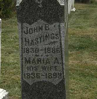 HASTINGS, JOHN B. - Lorain County, Ohio | JOHN B. HASTINGS - Ohio Gravestone Photos