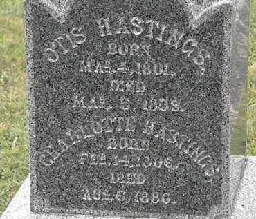 HASTINGS, OTIS - Lorain County, Ohio | OTIS HASTINGS - Ohio Gravestone Photos
