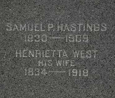 HASTINGS, HENRIETTA - Lorain County, Ohio | HENRIETTA HASTINGS - Ohio Gravestone Photos