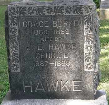 HAWKE, GEORGIE - Lorain County, Ohio | GEORGIE HAWKE - Ohio Gravestone Photos