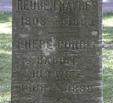 HAYNES, REUBEN - Lorain County, Ohio | REUBEN HAYNES - Ohio Gravestone Photos