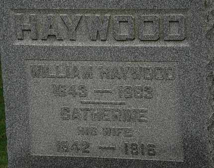 HAYWOOD, WILLIAM - Lorain County, Ohio | WILLIAM HAYWOOD - Ohio Gravestone Photos