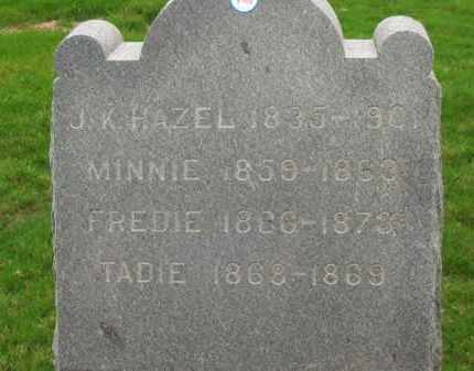 HAZEL, TADIE - Lorain County, Ohio | TADIE HAZEL - Ohio Gravestone Photos