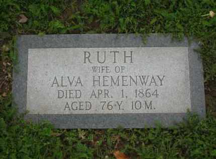 HEMENWAY, RUTH - Lorain County, Ohio | RUTH HEMENWAY - Ohio Gravestone Photos