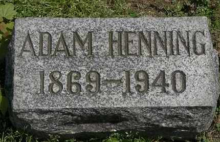 HENNING, ADAM - Lorain County, Ohio | ADAM HENNING - Ohio Gravestone Photos