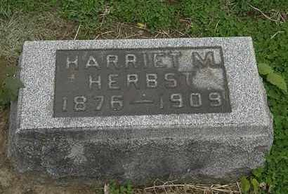 HERBST, HARRIET M. - Lorain County, Ohio | HARRIET M. HERBST - Ohio Gravestone Photos