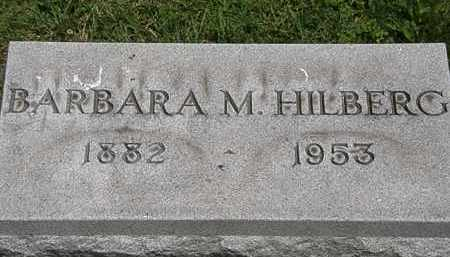 HILBERG, BARBARA - Lorain County, Ohio | BARBARA HILBERG - Ohio Gravestone Photos