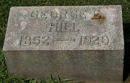 HILL, GEORGE E. - Lorain County, Ohio | GEORGE E. HILL - Ohio Gravestone Photos